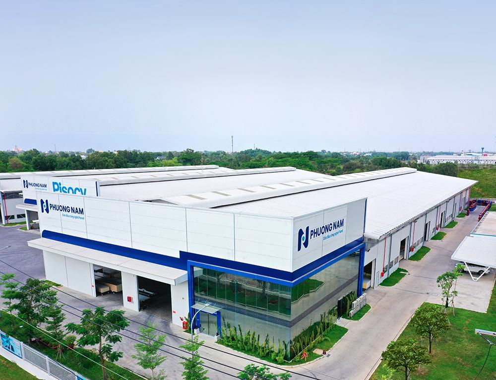 Nhà máy Panel Phương Nam sản xuất vật liệu xây nhà trên nền đất yếu