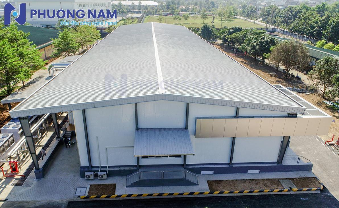 Công trình nhà xưởng khách hàng của Panel Phương Nam